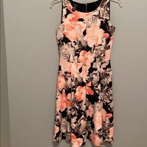Alfani floral dress Xs never worn